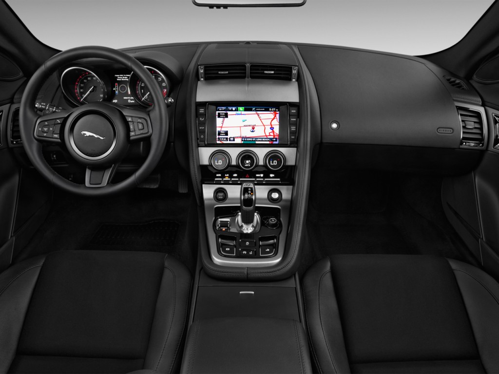 2014 jaguar f type 2 door convertible v6 dashboard. Black Bedroom Furniture Sets. Home Design Ideas