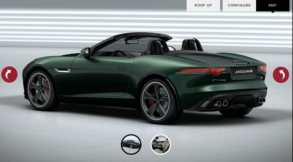 Jaguar f type coupe green - photo#14