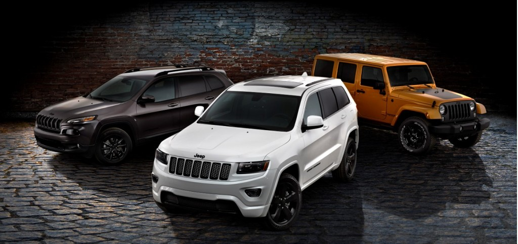 jeep launches blacked out altitude special editions. Cars Review. Best American Auto & Cars Review