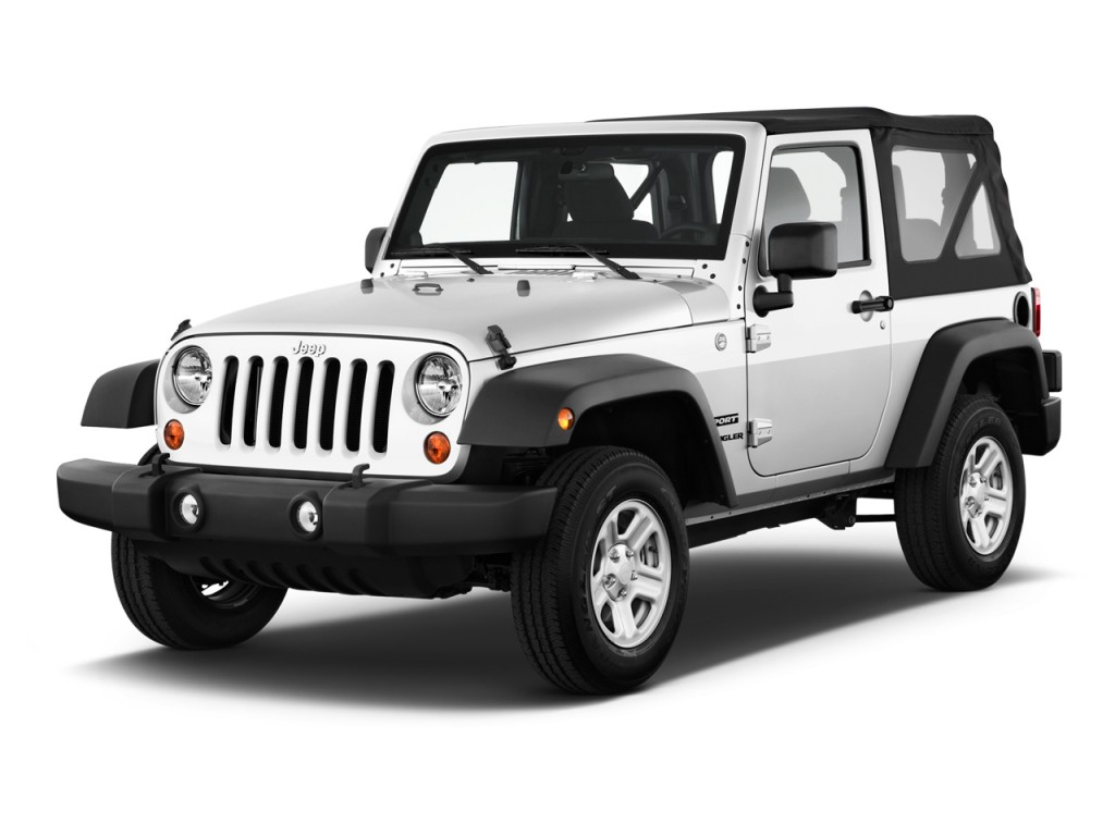 2014 jeep wrangler 4wd 2 door sport angular front exterior view. Cars Review. Best American Auto & Cars Review