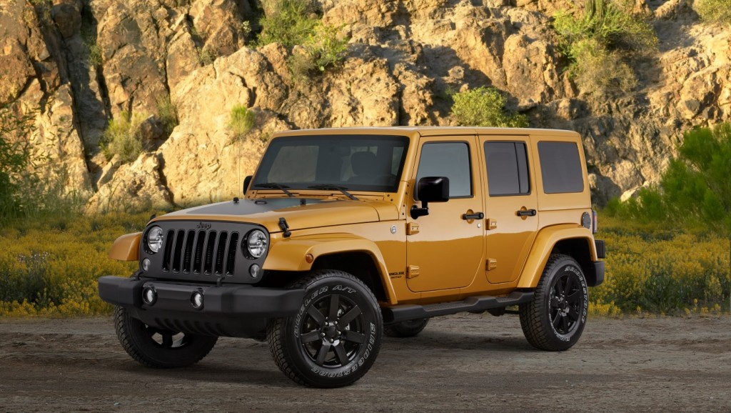 jeep launches blacked out altitude special editions. Black Bedroom Furniture Sets. Home Design Ideas