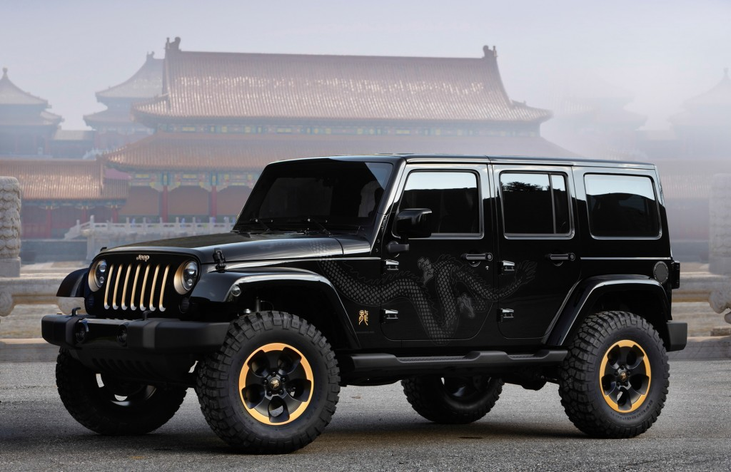 The jeep wrangler dragon