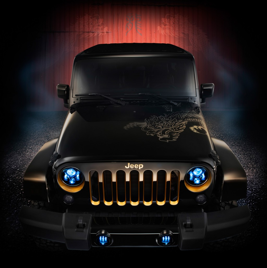 2014 jeep wrangler dragon edition roaring into showrooms this fall