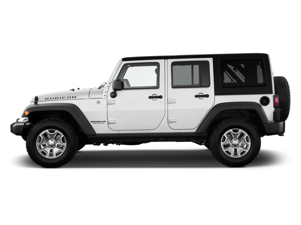 2014 jeep wrangler unlimited 4wd 4 door rubicon side exterior view. Cars Review. Best American Auto & Cars Review