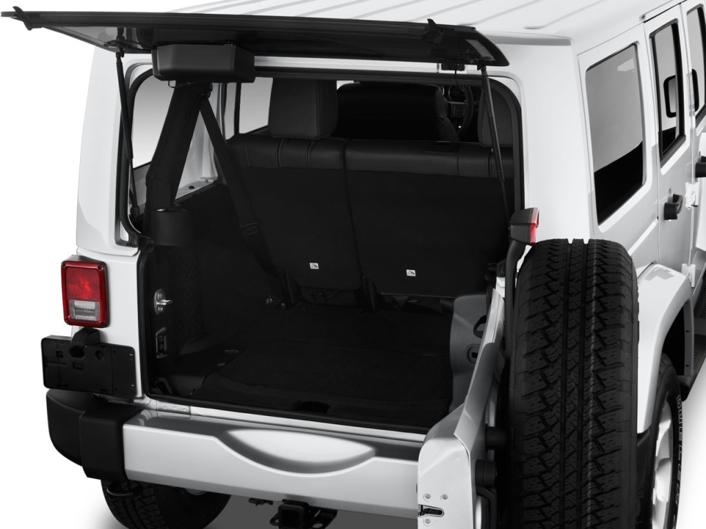 cargo space 2014 wrangler unlimited autos post. Black Bedroom Furniture Sets. Home Design Ideas