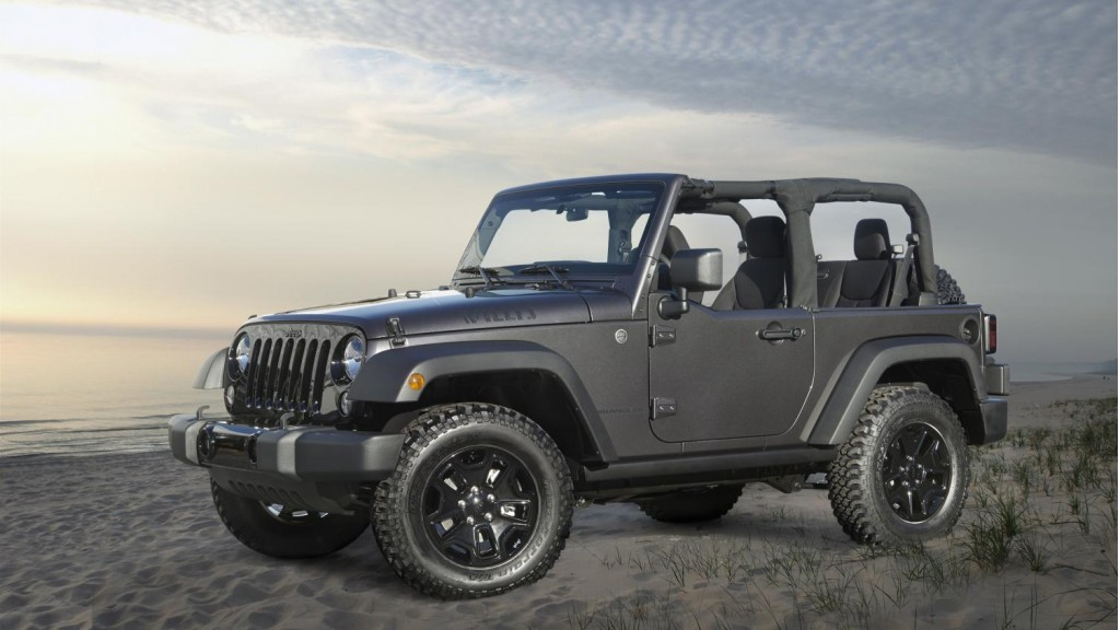 Jeep Sahara Roof Rack 2014 Jeep Wrangler Willys Wheeler Edition Goes Back To The ...