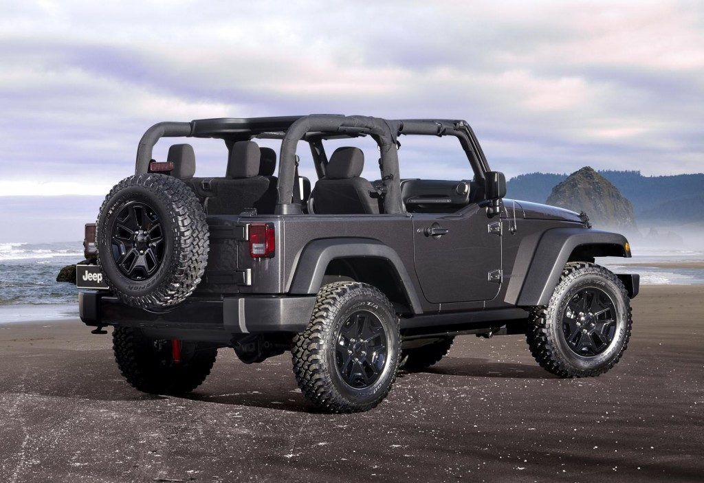 2014 Jeep Wrangler Willys Wheeler Edition Goes Back To The Beginning