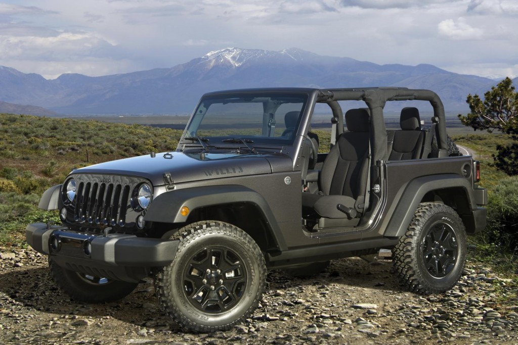 2014 jeep wrangler willys wheeler edition goes back to the beginning. Black Bedroom Furniture Sets. Home Design Ideas