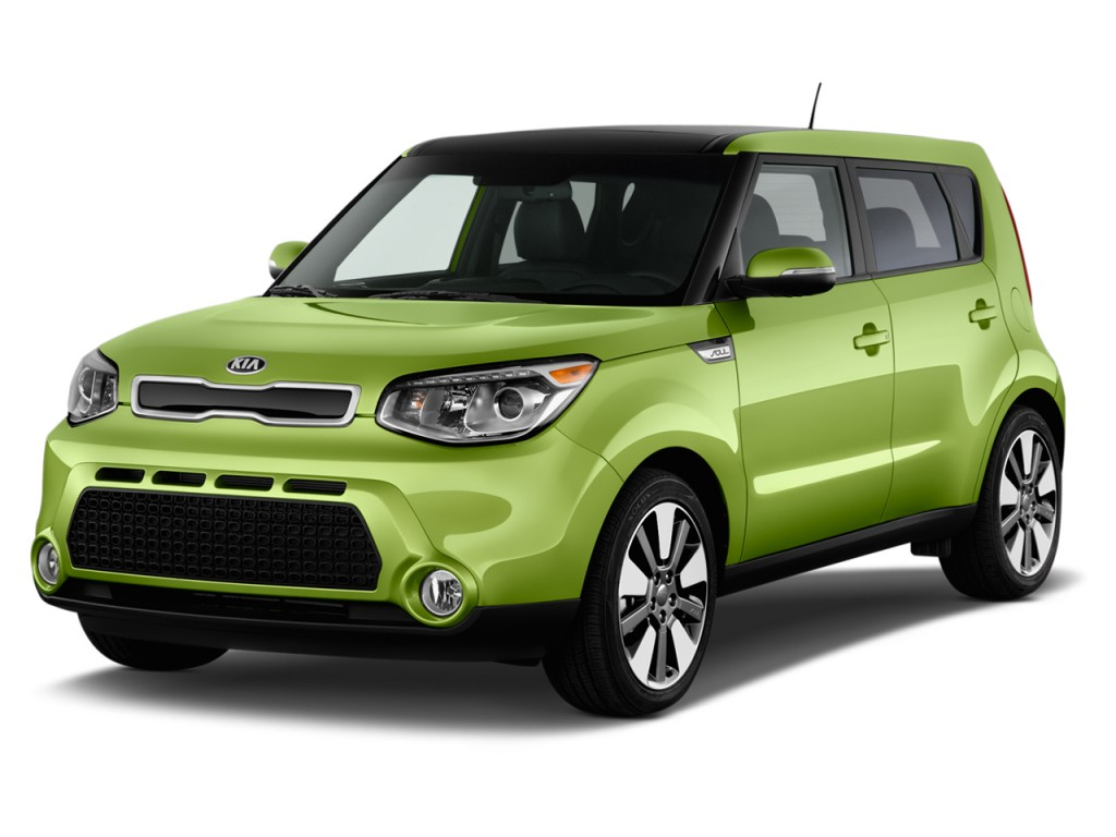2014 kia soul 5dr wagon auto angular front exterior view. Black Bedroom Furniture Sets. Home Design Ideas
