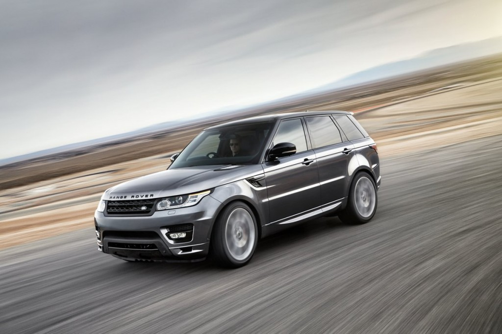 2014 Land Rover Range Rover Sport Sheds 800 Pounds, Gains Supercharged