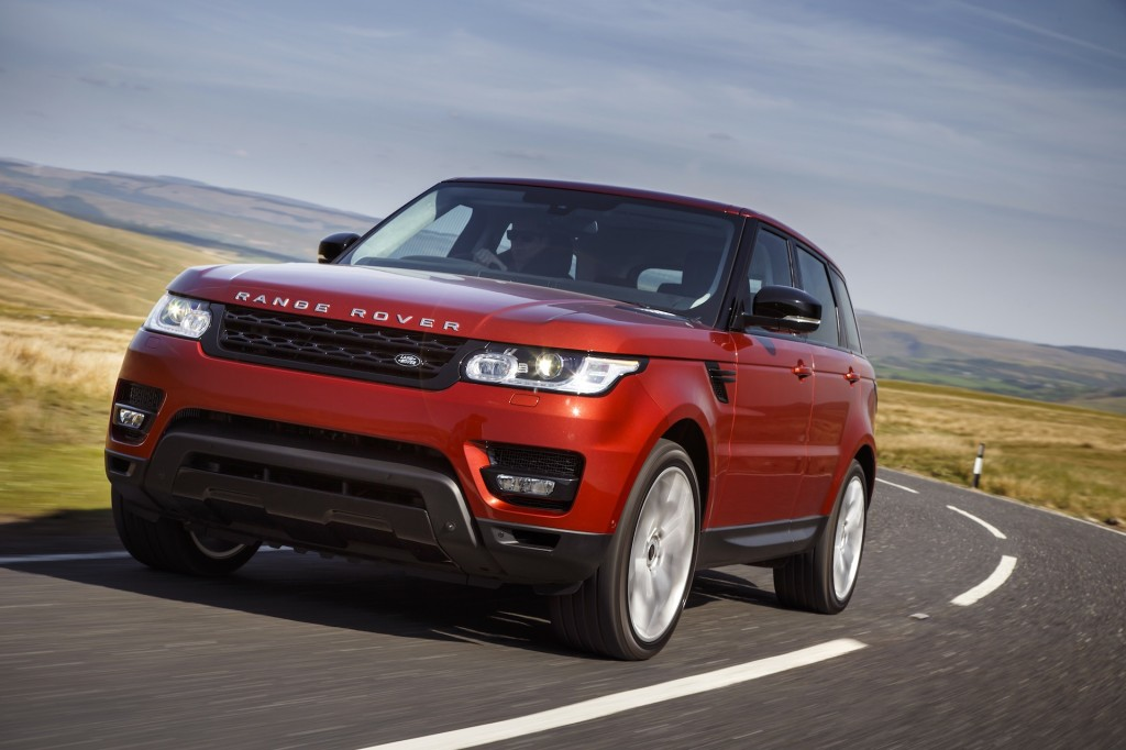 2014 land rover range rover sport first drive. Black Bedroom Furniture Sets. Home Design Ideas