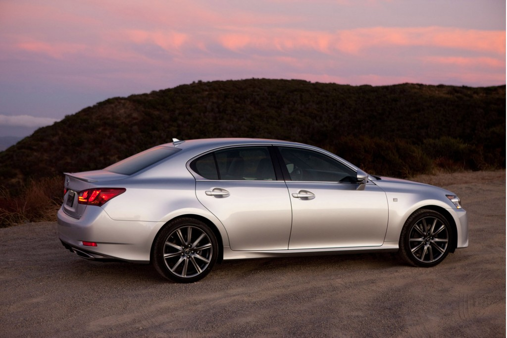 2014 lexus gs 350 gets eight speed auto other updates. Black Bedroom Furniture Sets. Home Design Ideas
