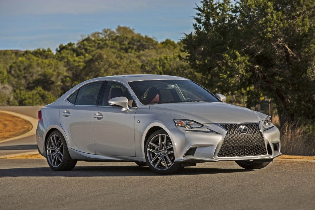 2014 lexus is first drive video. Black Bedroom Furniture Sets. Home Design Ideas