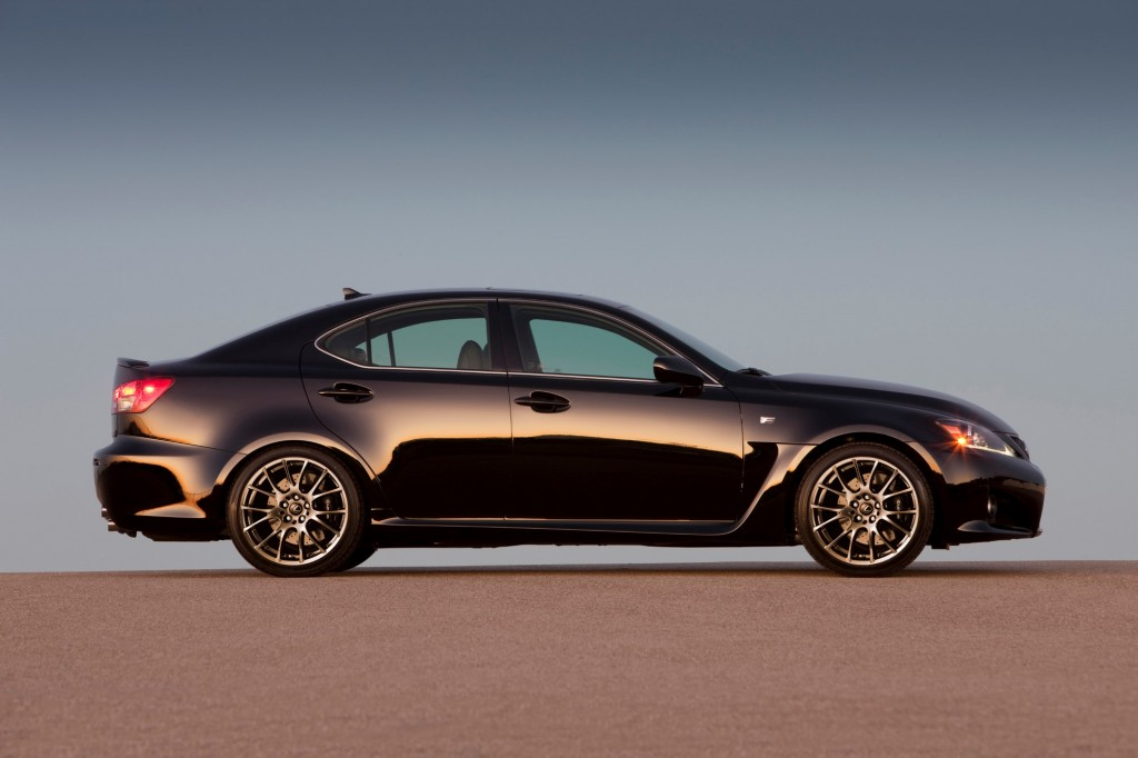 The New Lexus IS F Is The Old IS F, And The Last IS F, Ever