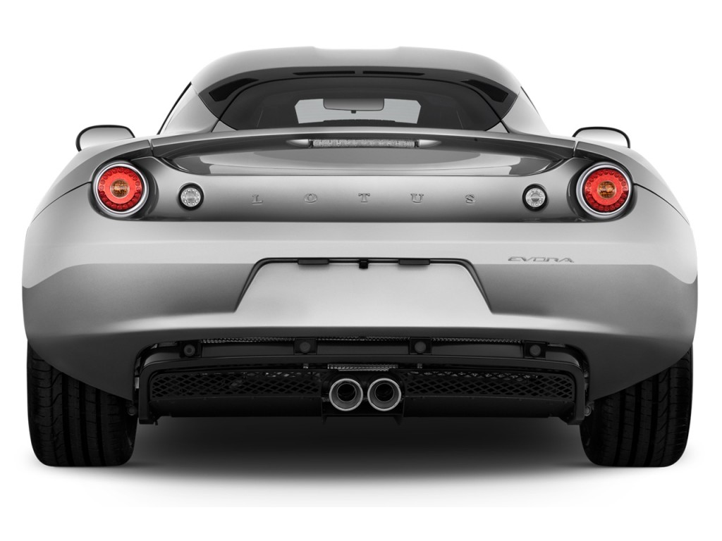 image 2014 lotus evora 2 door coupe 2 2 rear exterior. Black Bedroom Furniture Sets. Home Design Ideas