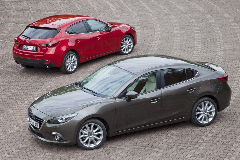 2014 Mazda Mazda3 Sedan Aero Efficient Sedan Revealed
