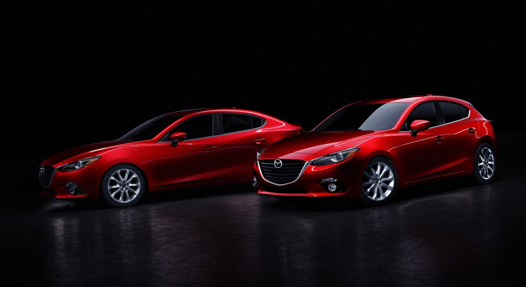 2014 Mazda 3 Sedan: Official Details, Photos And Video