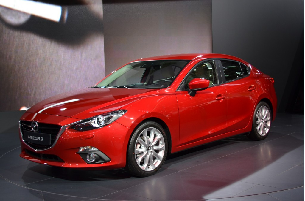 2014 Mazda 3 Sedan Live Photo Gallery: 2013 Frankfurt Auto ...