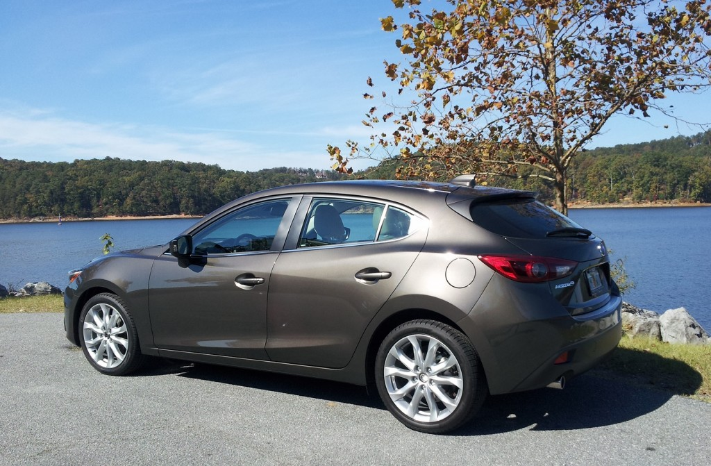 2014 mazda 3 first drive. Black Bedroom Furniture Sets. Home Design Ideas