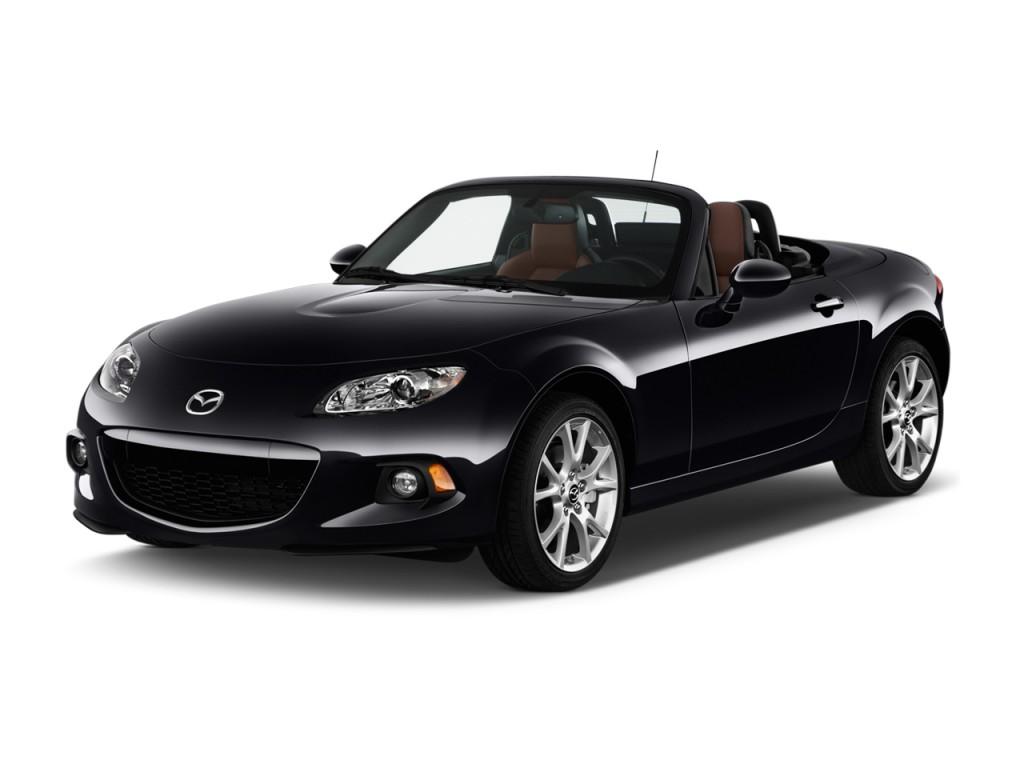 image 2014 mazda mx 5 miata 2 door convertible hard top auto grand touring angular front. Black Bedroom Furniture Sets. Home Design Ideas