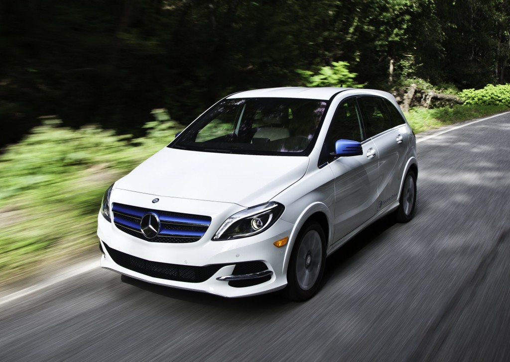 2014 mercedes benz b class electric drive first drive for Mercedes benz bclass
