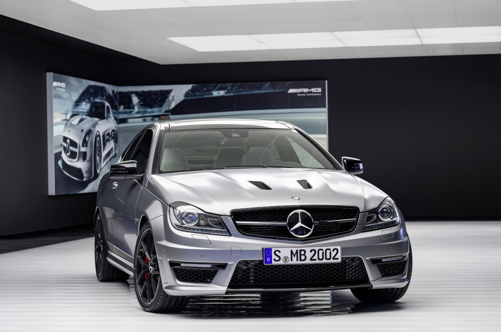 mercedes benz launches more powerful c63 amg edition 507. Black Bedroom Furniture Sets. Home Design Ideas