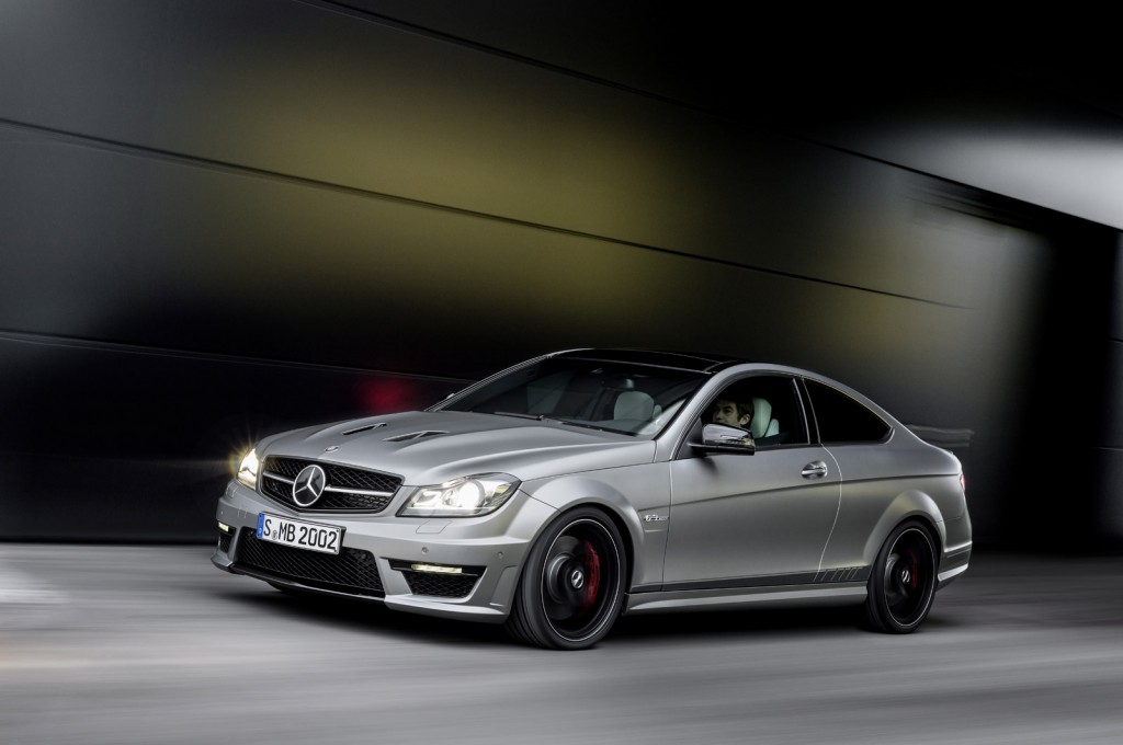 mercedes benz launches more powerful c63 amg edition 507
