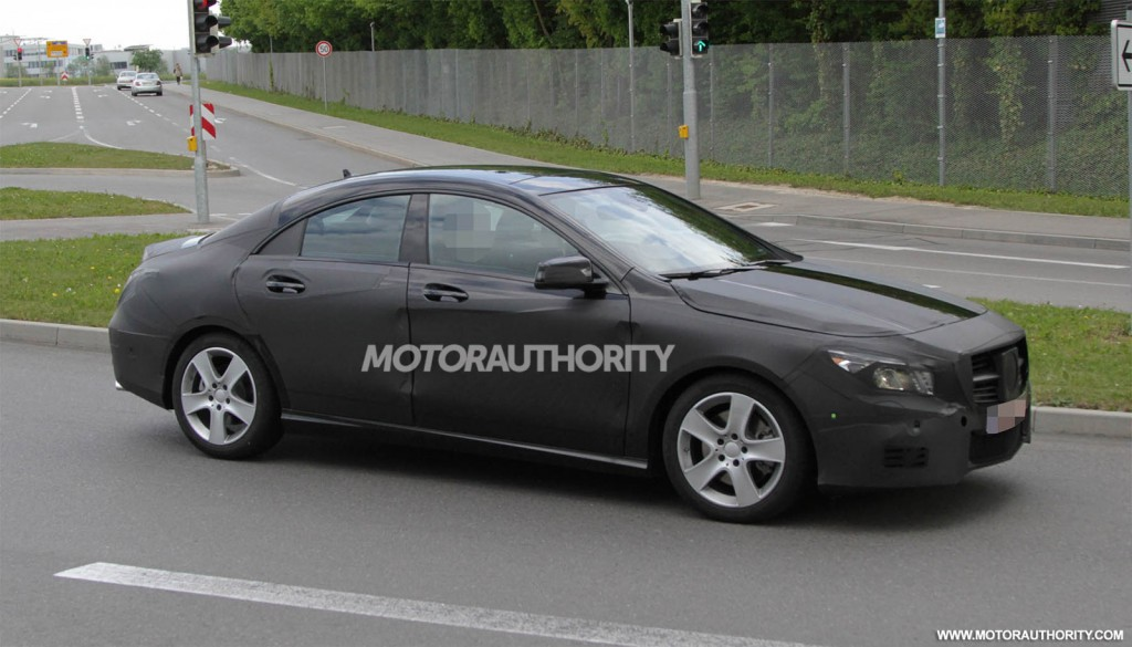 2014 mercedes benz cla fep spy shots clublexus lexus for Mercedes benz cla coupe 2014