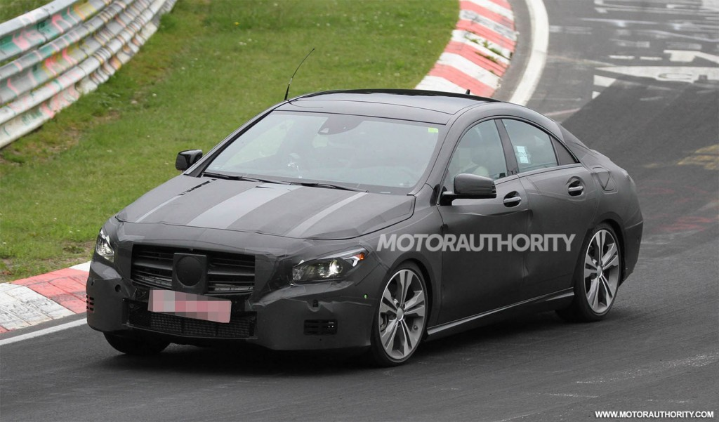 2014 mercedes benz cla class spy shots for 2014 mercedes benz cla class