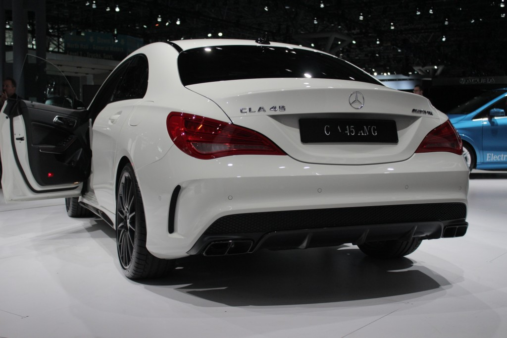 More CLA45 AMG from the New York AutoShow - MBWorld.org Forums