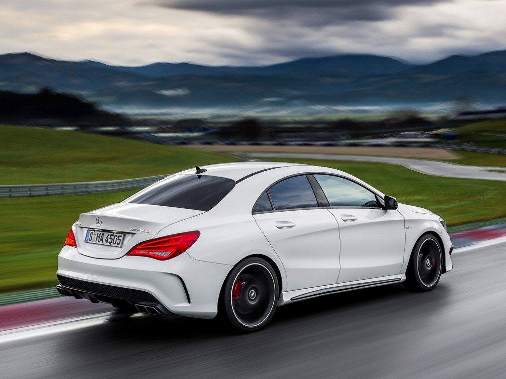 2014 mercedes benz cla45 amg leaked gallery for Mercedes benz coupe 2014