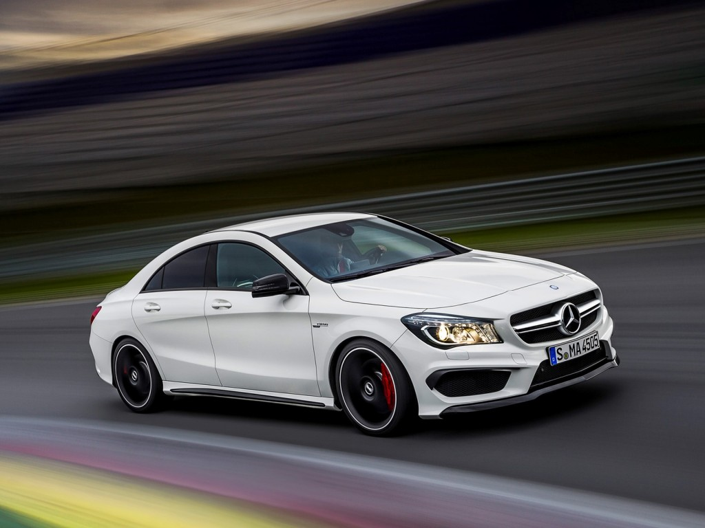 2014 mercedes benz cla45 amg leaked gallery