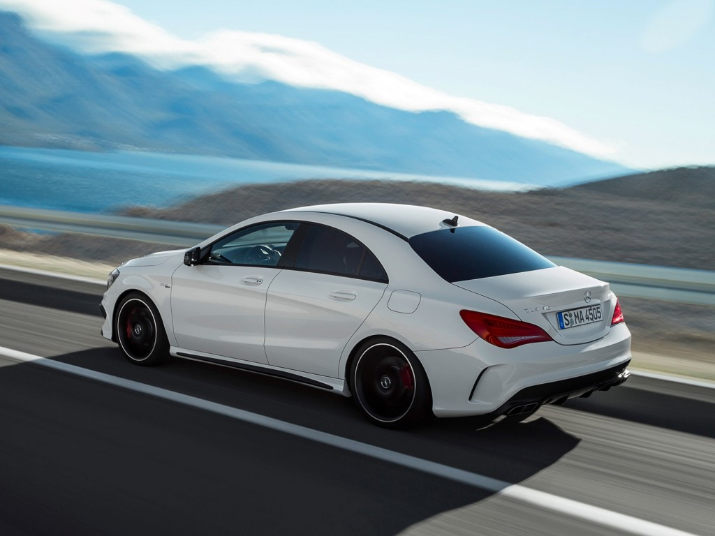 2014 mercedes benz cla45 amg leaked gallery. Black Bedroom Furniture Sets. Home Design Ideas
