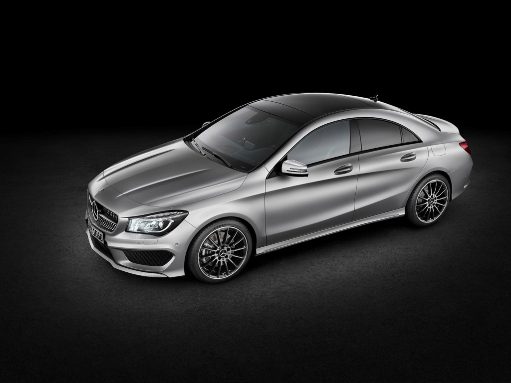 2014 mercedes benz cla class for Mercedes benz cla coupe 2014