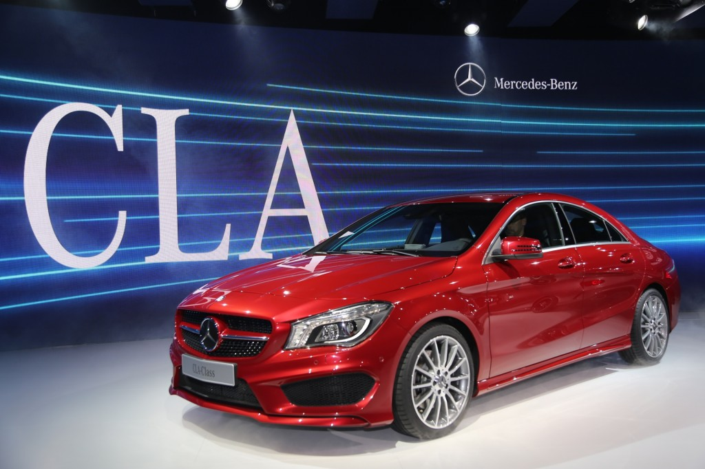 2014 mercedes benz cla coupe detroit auto show preview. Black Bedroom Furniture Sets. Home Design Ideas