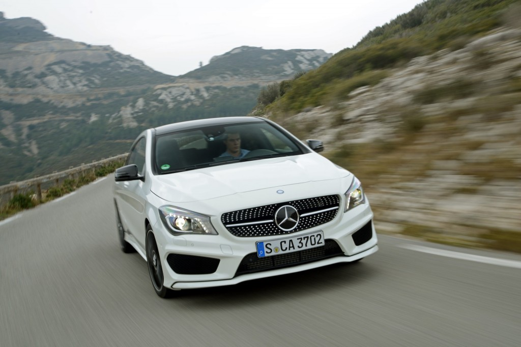 2014 Mercedes-Benz CLA 250 Colors