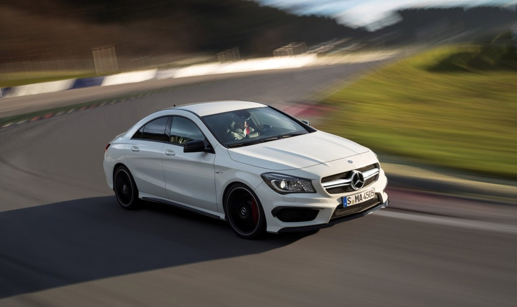 2014 mercedes benz cla45 amg 355 hp 0 60 in 4 5 and a for Mercedes benz cla 2014 price