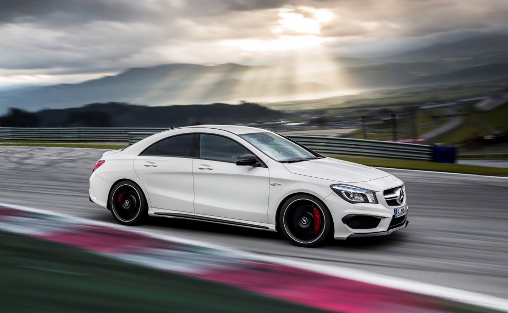 2014 mercedes benz cla45 amg best car to buy 2014 nominee for How long does it take to build a mercedes benz
