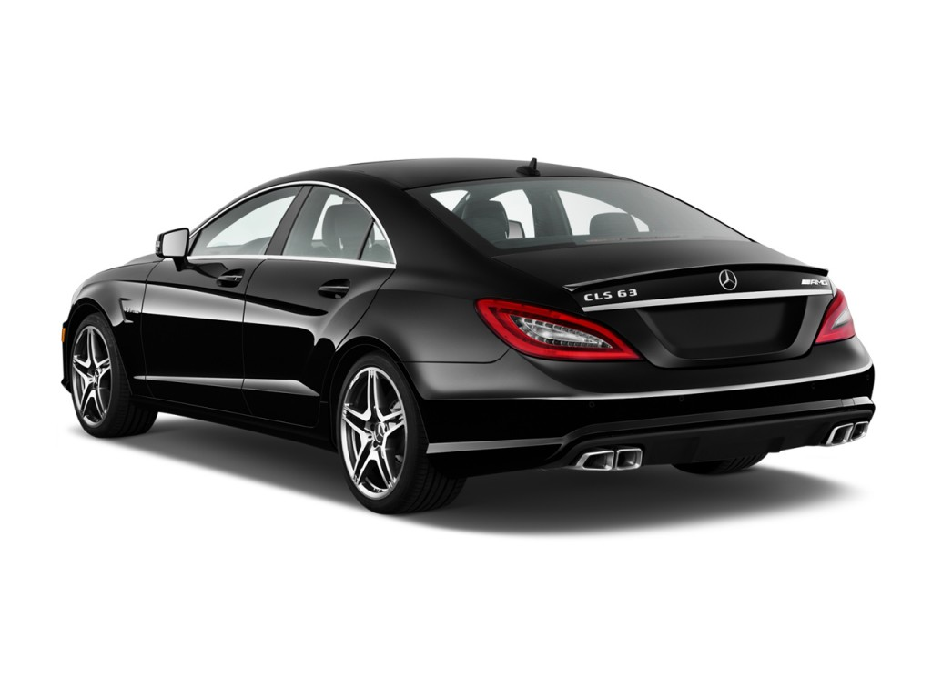 2014 mercedes benz cls class 4 door sedan cls63 amg 4matic angular rear exterior view. Black Bedroom Furniture Sets. Home Design Ideas