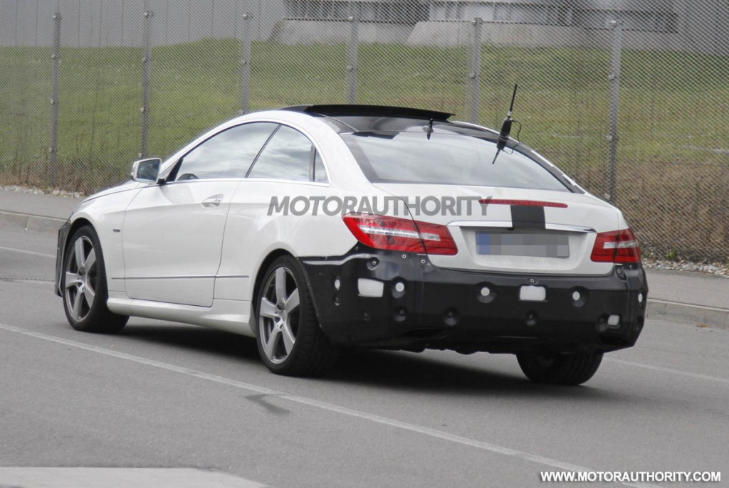 2014 mercedes benz e class coupe facelift spy shots for 2014 e class mercedes benz