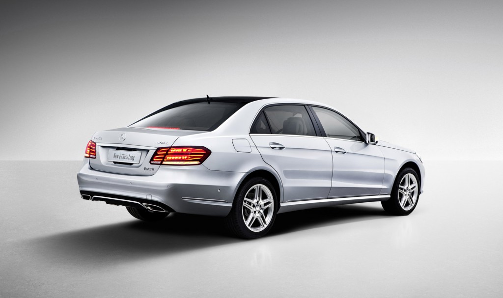 2014 mercedes benz e class l revealed at 2013 shanghai. Black Bedroom Furniture Sets. Home Design Ideas