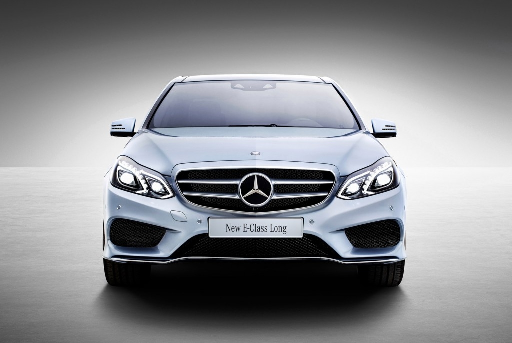 2014 mercedes benz e class l revealed at 2013 shanghai for Mercedes benz class e