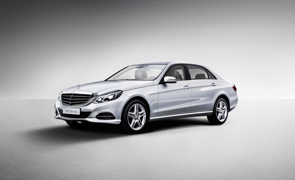 2014 mercedes benz e class l revealed at 2013 shanghai