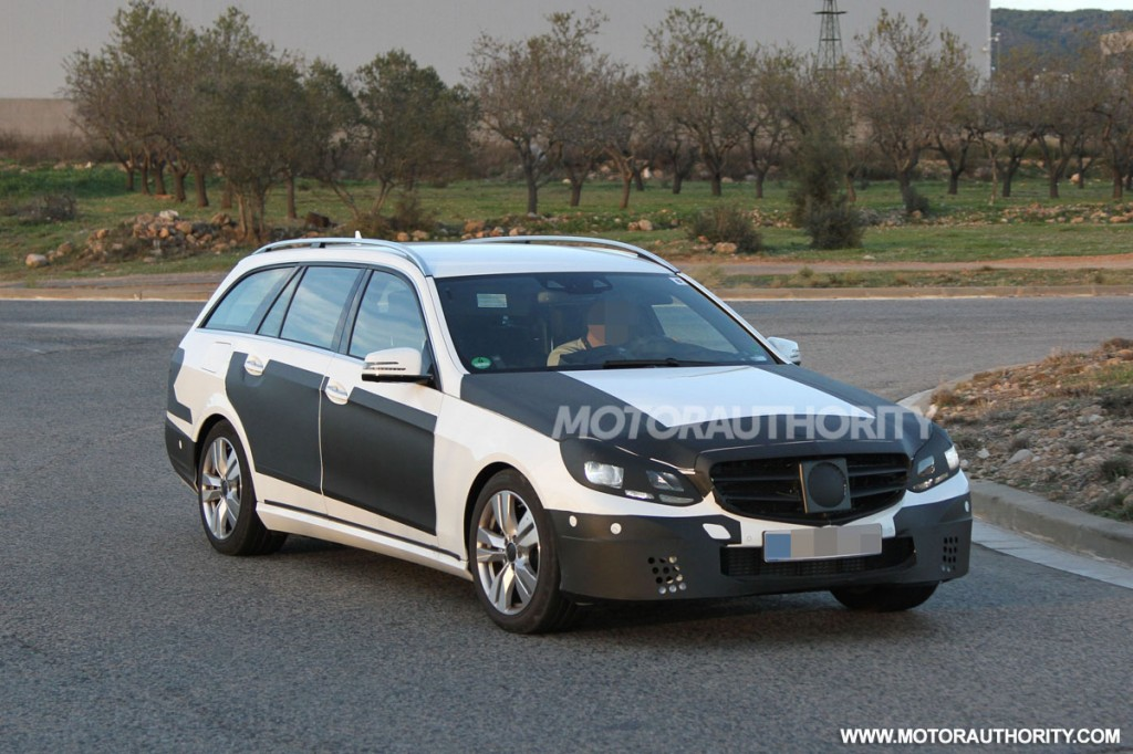 2014 mercedes benz e class wagon spy shots