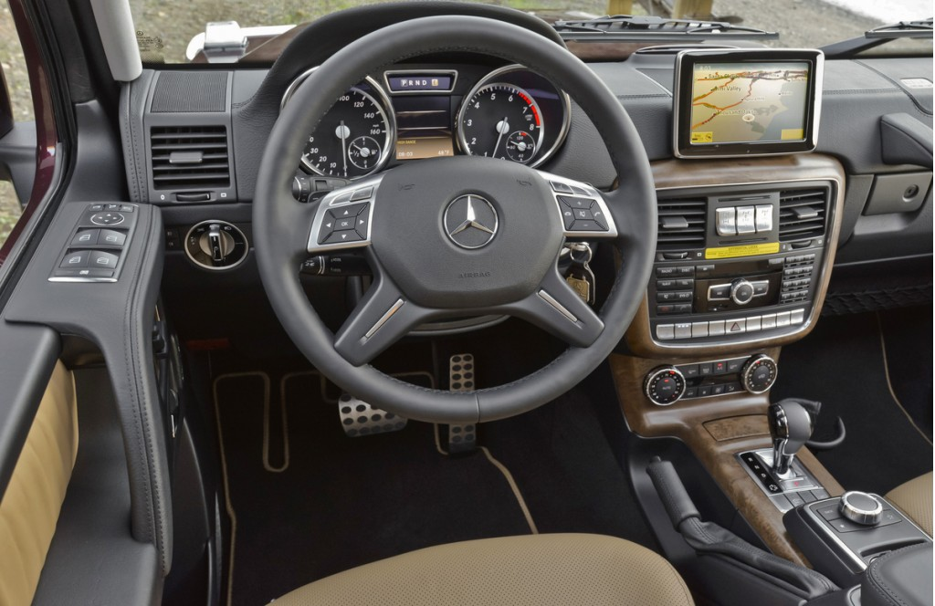 2014 gsc mercedes benz g class static 3 1920x1200 wallpaper pictures - Mercedes Suv Interior 2014