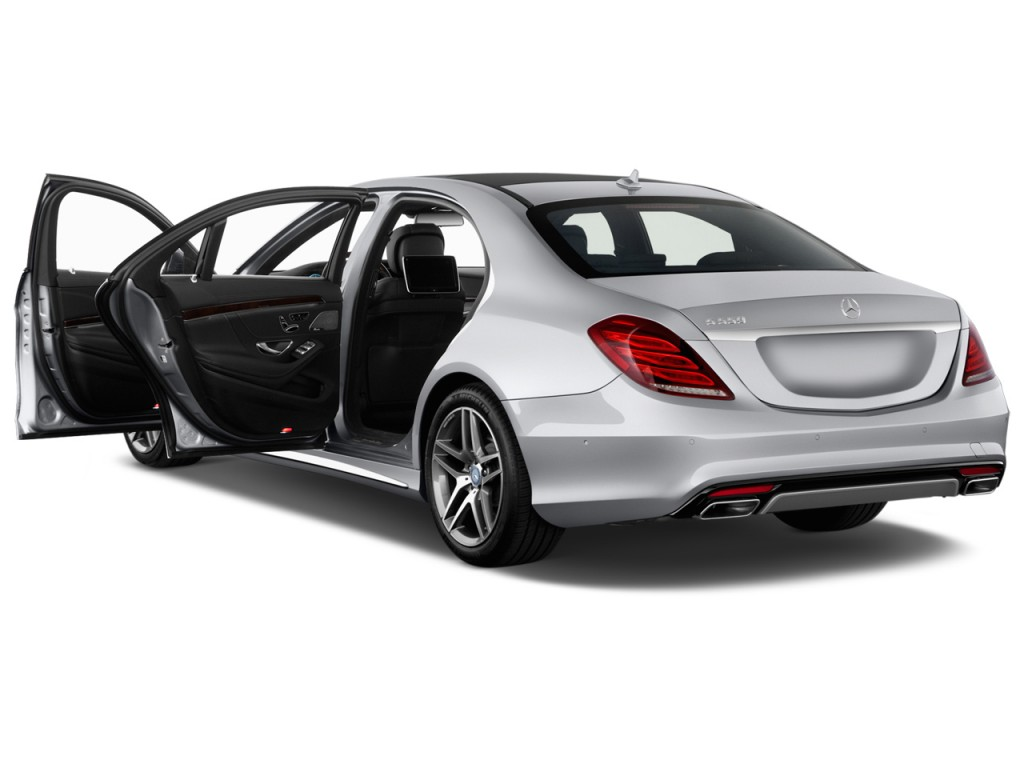 Image 2014 mercedes benz s class 4 door sedan s550 rwd for Mercedes benz 4 door