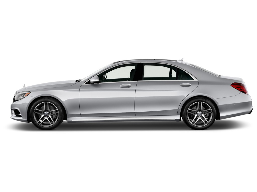 Image 2014 Mercedes Benz S Class 4 Door Sedan S550 Rwd Side Exterior View Size 1024 X 768