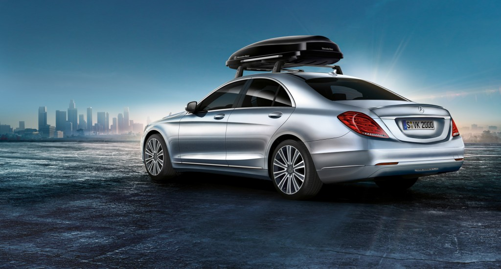 The 2014 mercedes benz s class is ready to be accessorized for Mercedes benz acc