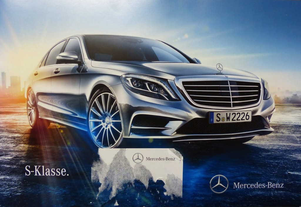 2014 mercedes benz s class leaked in brochure for 2014 mercedes benz s class