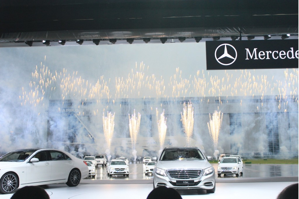 2014 mercedes benz s class live photos and video from for Benz hamburg